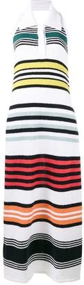 Rosie Assoulin Rainbow Stripe Knitted Dress