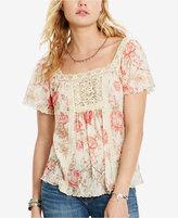 Denim & Supply Ralph Lauren Floral-Print Boho Shirt