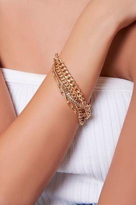 Forever 21 Layered Chain Bracelet