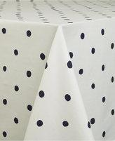 "Kate Spade Charlotte Street Navy Oblong 60"" X 84"" Tablecloth"