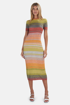 Zimmermann Brightside Knit Shirtdress