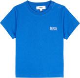 HUGO BOSS Logo cotton t-shirt 6-36 months