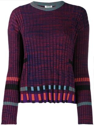 Kenzo Ridged Knitted Top