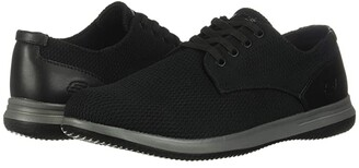 Skechers Darlow - Velogo (Black) Men's Shoes