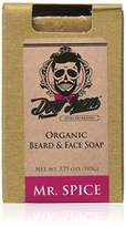 Don Juan Organic Beard Face Soap Bar,3.75 Ounce (Pack of 12)