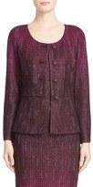 St. John 'Kira' Crystal Embellished Ombré Jacket