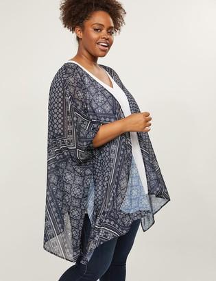 Lane Bryant Floral Kimono Overpiece