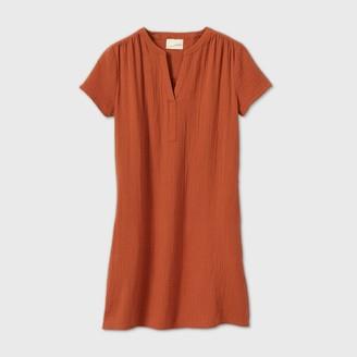 Universal Thread Women's Short Sleeve Shirtdress - Universal ThreadTM