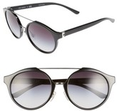 Tory Burch Women's 54Mm Sunglasses - Black Gradient