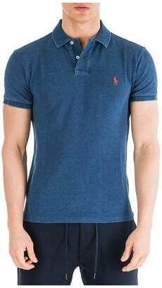 Polo Ralph Lauren Logo Slim-Fit Polo Shirt
