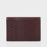 Paul Smith No.9 - Brown Leather Credit Card Wallet