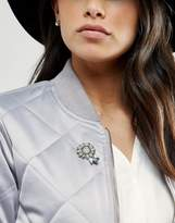 Asos Jewel Flower Brooch