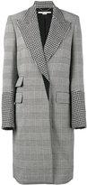 Stella McCartney Odelia check coat - women - Cotton/Polyamide/Spandex/Elastane/Wool - 38