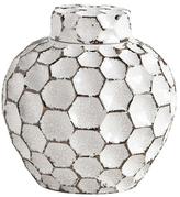 August Small Ceramic Tea Jar