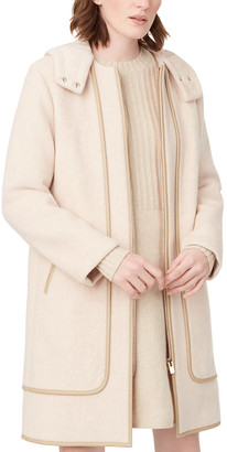 Club Monaco Leanor Wool-Blend Coat