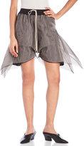 Rick Owens Tulle Shorts