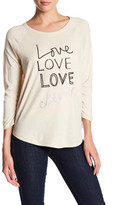 Levi's Love Long Sleeve Raglan Tee
