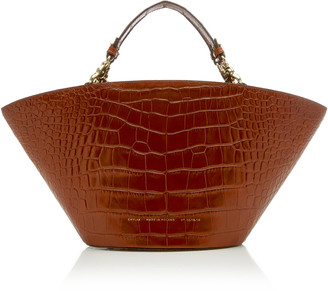 Chylak Croc-Effect Leather Tote