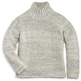 Aqua Girls' Chunky Mock Neck Sweater, Big Kid - 100% Exclusive