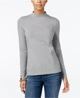 Tommy Hilfiger Ellie Mock-Neck Top