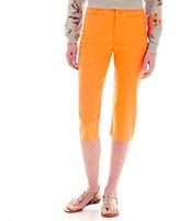 ST. JOHN'S BAY St. John's Bay Secretly Slender Cropped Pants - Tall