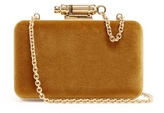 Sophie Hulme Whistle velvet cross-body bag