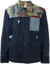 Antonio Marras printed denim jacket - men - Cotton - 48