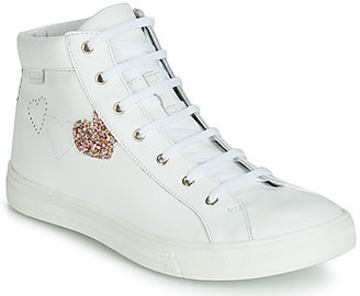 GBB MARTA girls's Shoes (High-top Trainers) in White