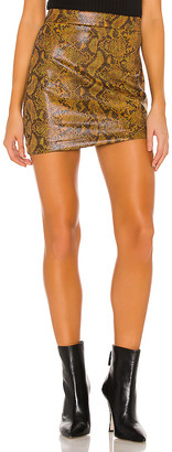 h:ours Link Mini Skirt