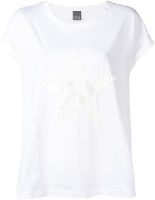 Lorena Antoniazzi star embellished T-shirt