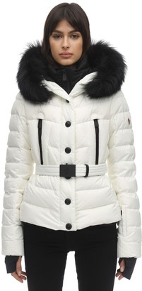 MONCLER GRENOBLE Beverley Nylon Tech Down Jacket