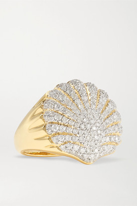 Yvonne Léon 18-karat Gold Diamond Ring