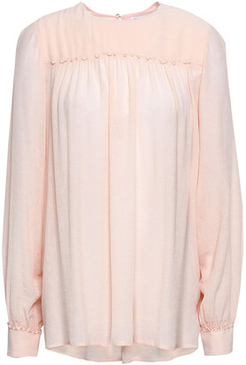 Filippa K Gathered Georgette Blouse