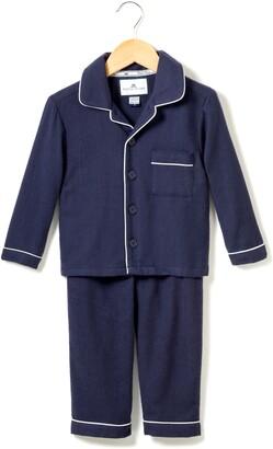 Petite Plume Flannel Two-Piece Pajamas
