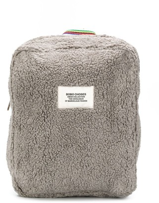 Bobo Choses Faux Shearling Backpack