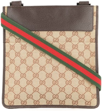 Gucci Pre Owned GG Shelly Line Shoulder Bag