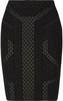 Line Stretch-knit skirt