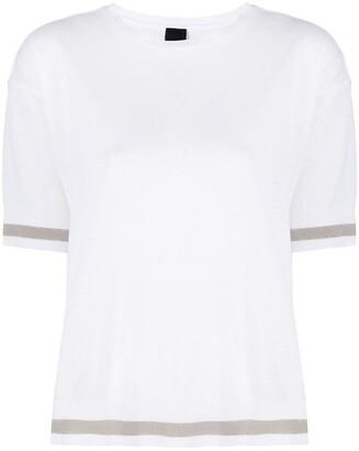 Lorena Antoniazzi contrasting stripe T-shirt