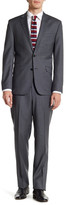 Kenneth Cole New York Slim Fit Two Button Notch Lapel Wool Suit
