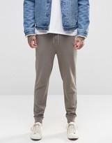 Asos Skinny Joggers In Grey