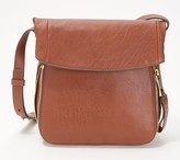Vince Camuto Leather Crossbody with Zipper Detail - Sonny