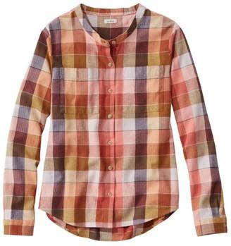 L.L. Bean Women's Organic Herringbone Flannel Shirt
