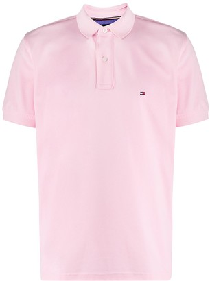 Tommy Hilfiger Embrodiered Logo Polo Shirt