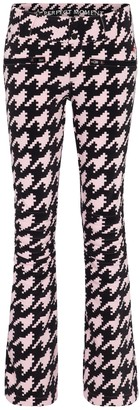 Perfect Moment Exclusive to Mytheresa Aurora houndstooth flared ski pants