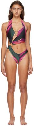 Louisa Ballou SSENSE Exclusive Pink Sex Wax Swimsuit