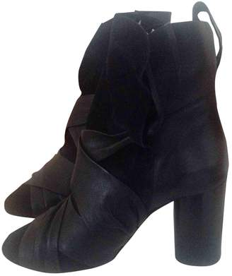 Etoile Isabel Marant \N Black Leather Ankle boots
