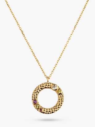 Wanderlust Emily Mortimer Jewellery Round Pendant Necklace