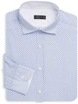 Corneliani Men's Long Sleeve Cotton Dress Shirt