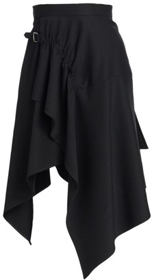 3.1 Phillip Lim Tailored Wool Handkerchief Skirt
