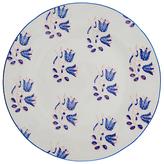 Anthropologie Salma Side Plate, Blue/White, Dia.21.6cm